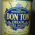 VINTAGE 1930's STUART & FOSTER BON TON METAL POLISH (5 OZ.) TIN